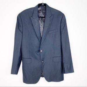 Ralph Lauren Blue Label Black Wool Blazer